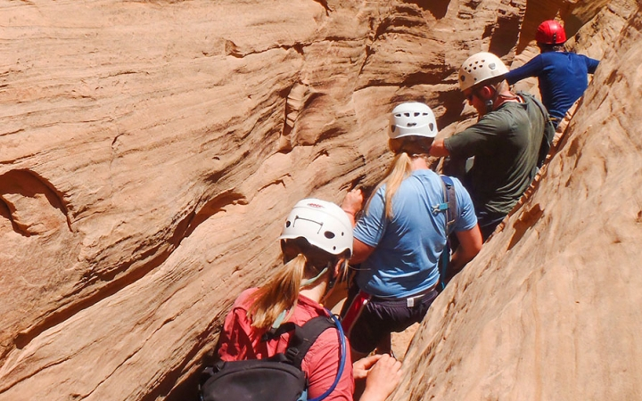 gap year canyoneering program in the southwest