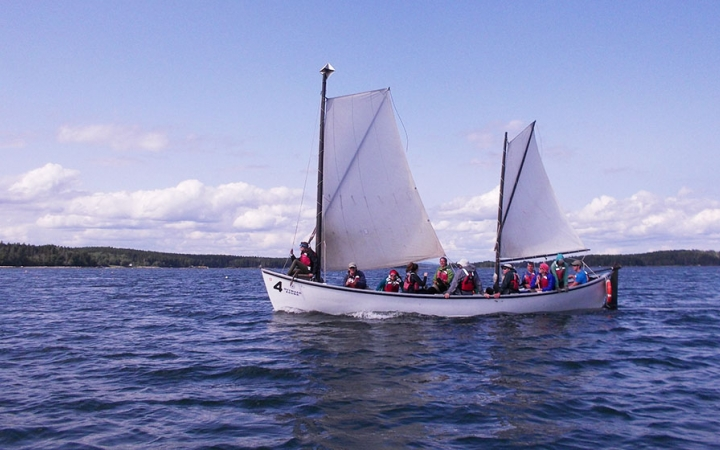 Maine sailing courses