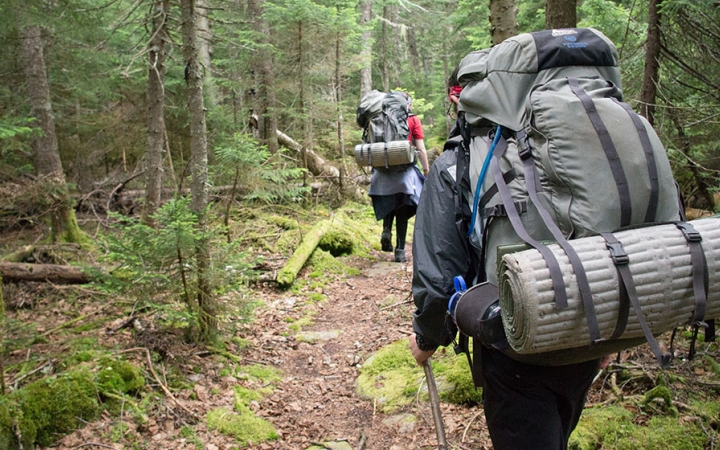 Maine backpacking