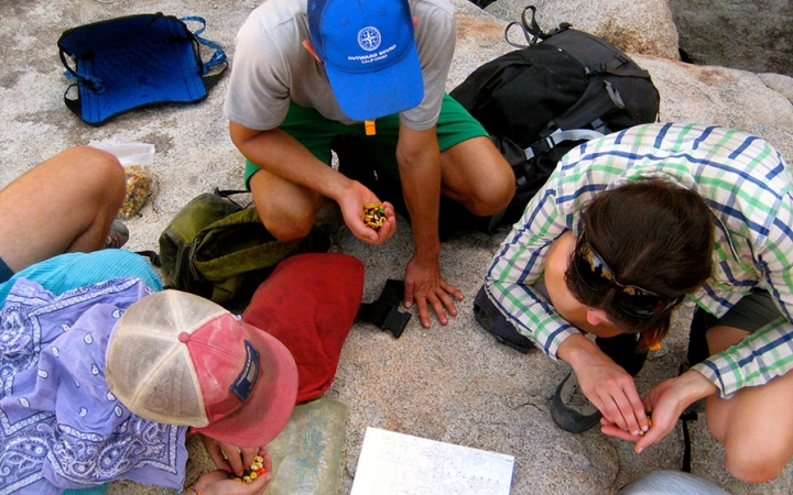 Backpacking navigation for adults in joshua tree