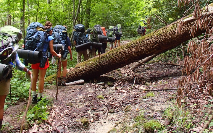 outdoor leadership school in north carolina