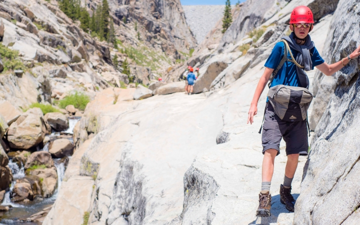 backpacking program for teens in yosemite