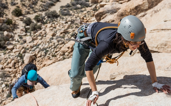 rock climbing course in south america