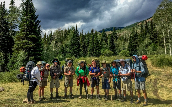 backpacking adventure for adults