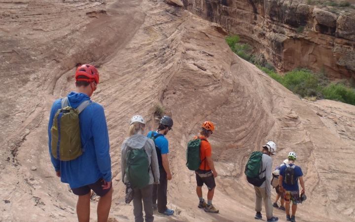 outdoor leadership program in the southwest