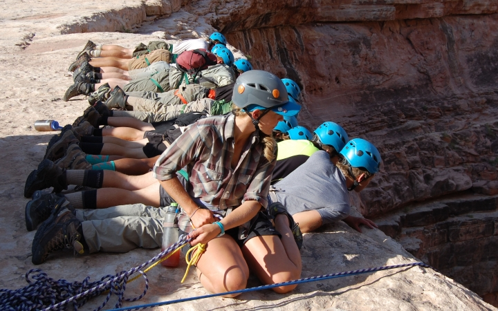 outdoor educator training in the southwest