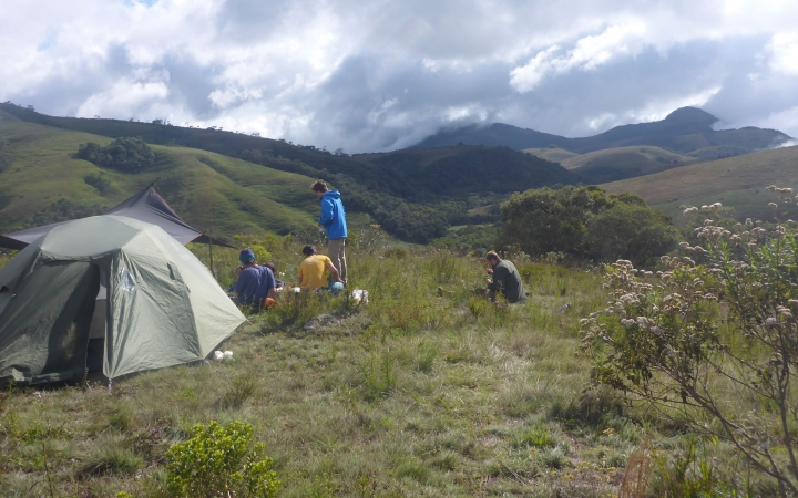 camping in brazil on gap year