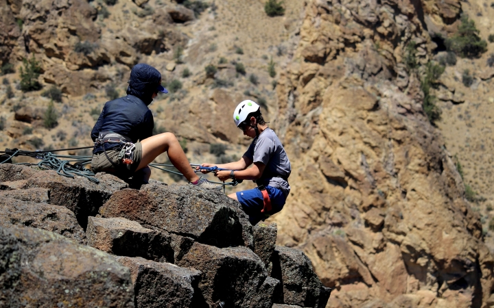 rock climbing wilderness expedition