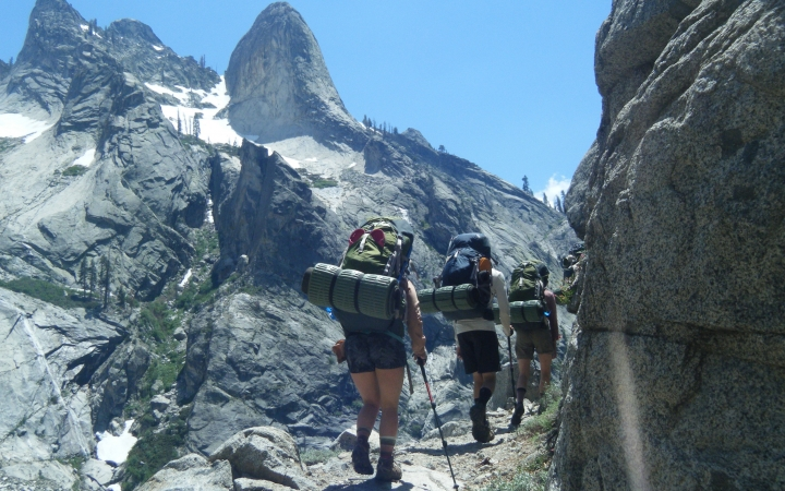 backpacking class for adults in california