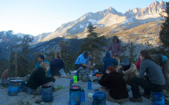 learn how to backpack with outward bound
