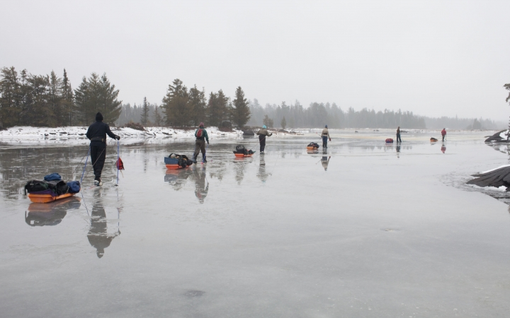 boundary waters skiing trip