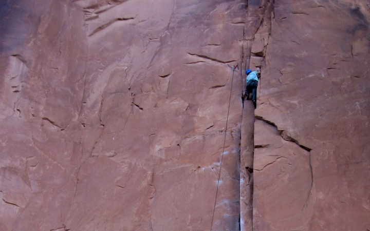 gap year rock climbing trip