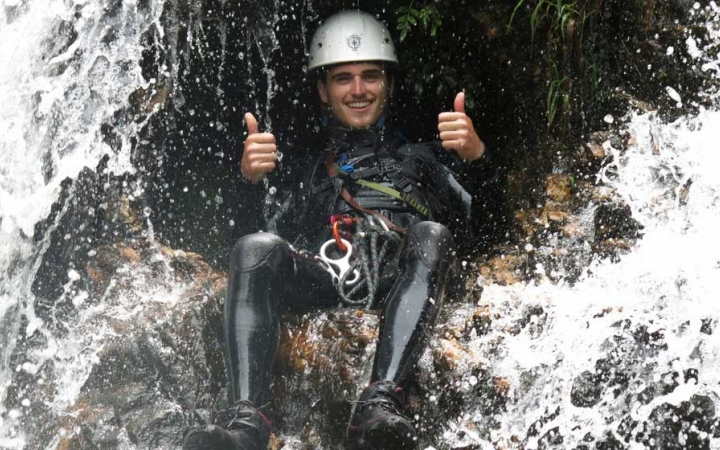 learn whitewater skills in brazil