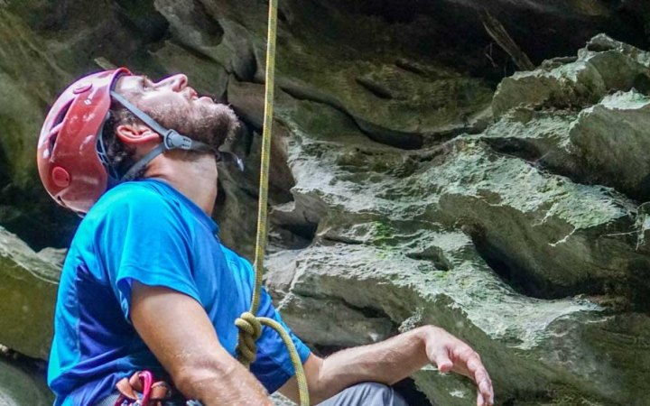 learn how to rock climb in south america