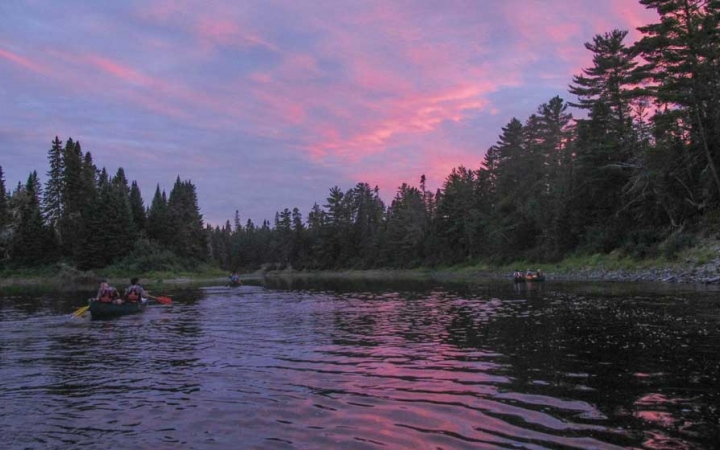 wilderness canoeing program