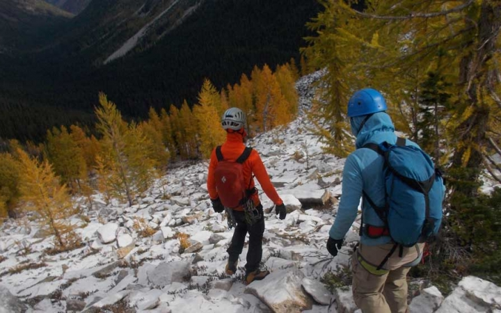 mountaineering trip for young adults