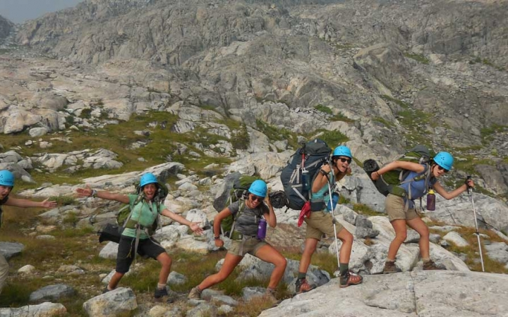 backpacking adventure for girls in california