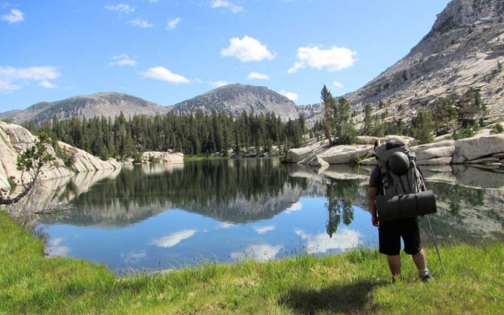 backpacking adventure trip for middle school boys in yosemite