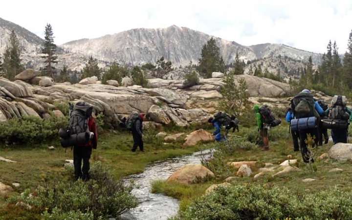 backpacking summer camp for teen boys
