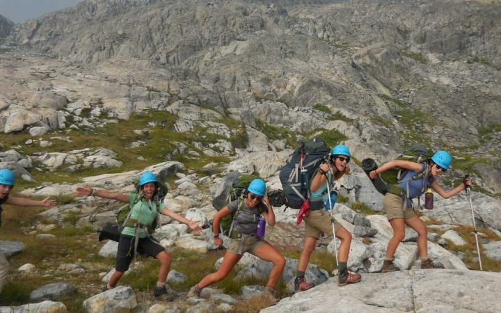 backpacking summer camp for teen girls