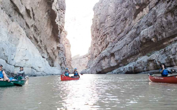 texas big bend canoeing adventure trip
