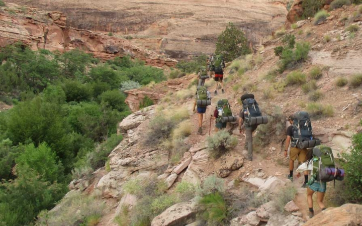 backpacking trip for adults in the southwest