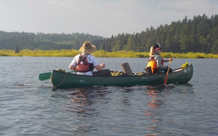 canoeing in maine for high schoolers