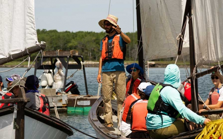 teens learn life skills while sailing