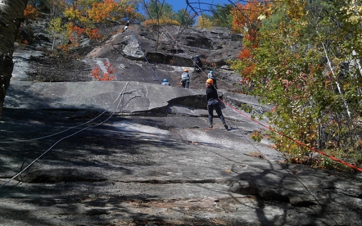 rock climbing gap year program for young adults
