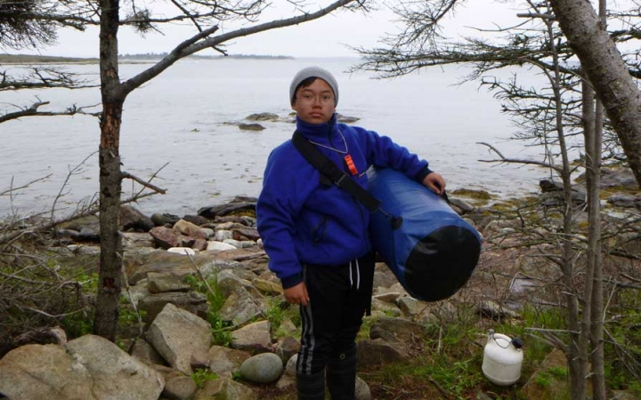teens reflect on outdoor leadership course