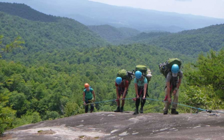 lgbtq teens rock climbing camp