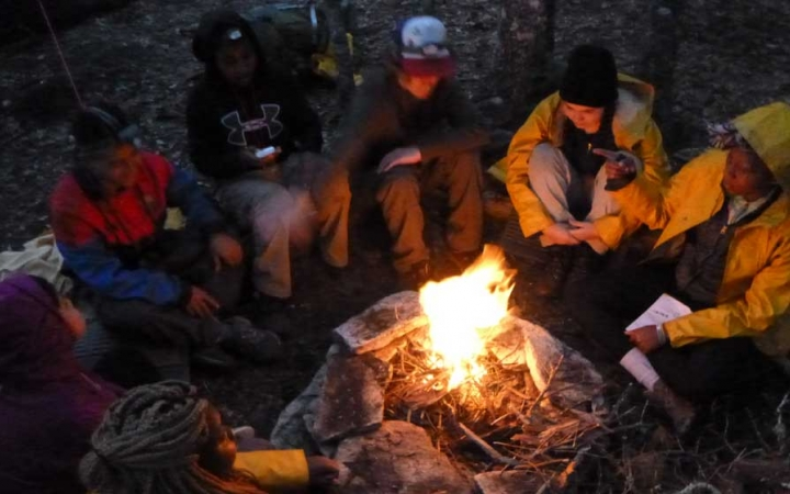 backpacking class for teens in north carolina