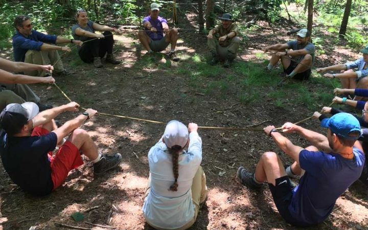 Wilderness instructor training north carolina