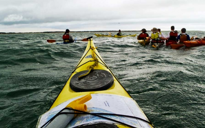 kayaking for high school students