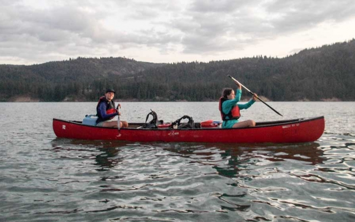 pacific northwest canoeing