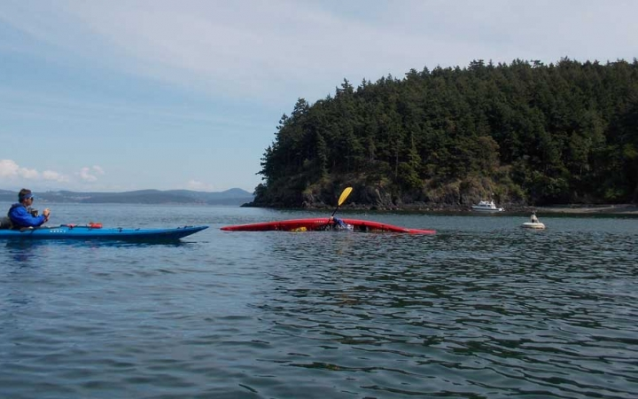 kayaking training in the pacific northwest
