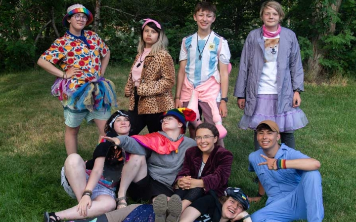outdoor leadership course for lgbtq teens