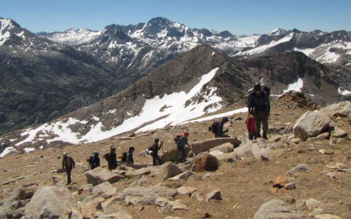 backpacking trip for boys in california