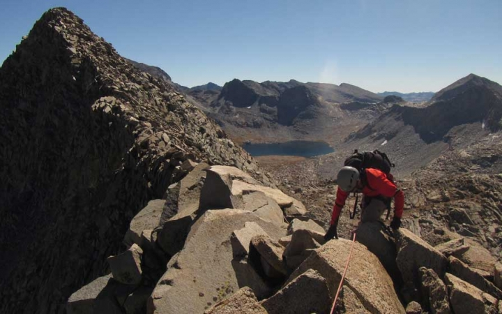 mountaineering trip in california for young adults