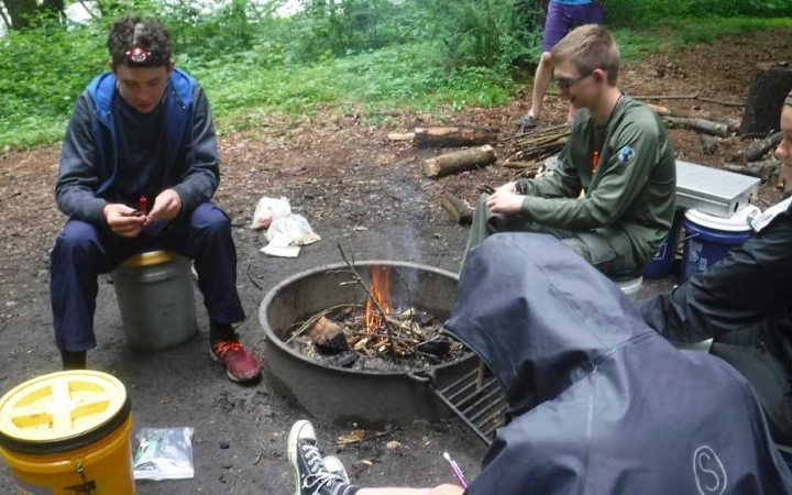 backpacking adventure for teens in philadelphia