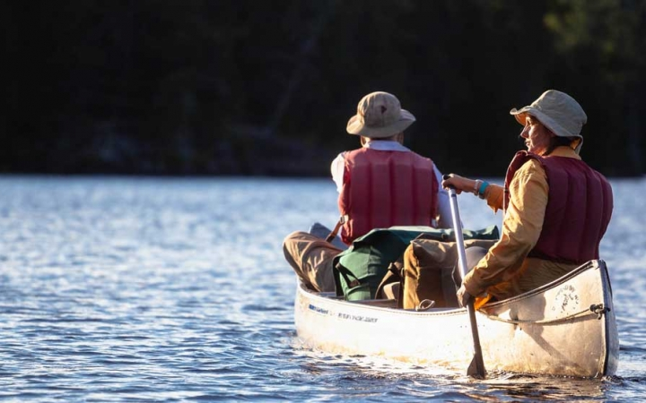 canoeing trip for adults in northern minnesota