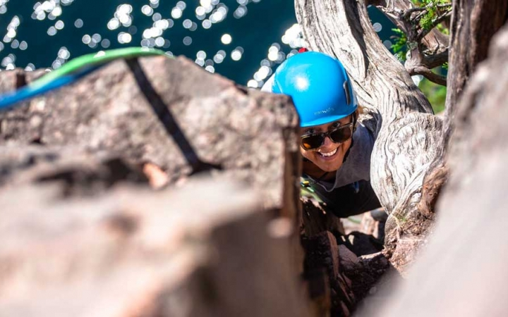 boundary waters rock climbing for adults