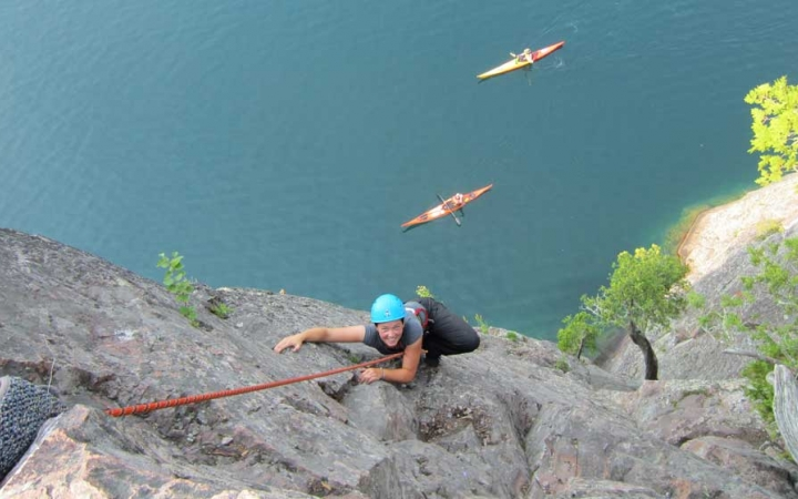 adults only rock climbing trip
