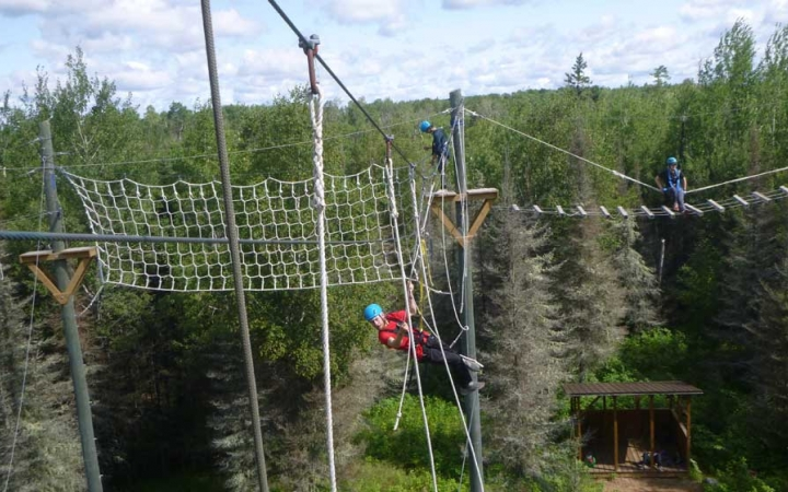 ropes course for girls