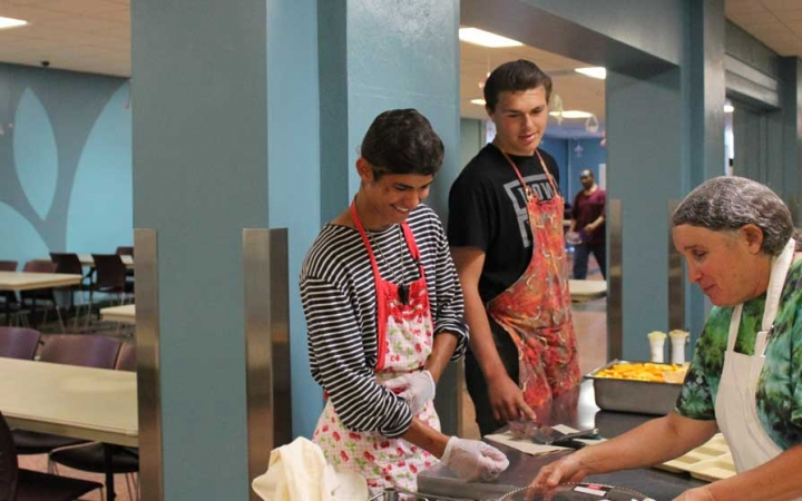 service learning for struggling teens