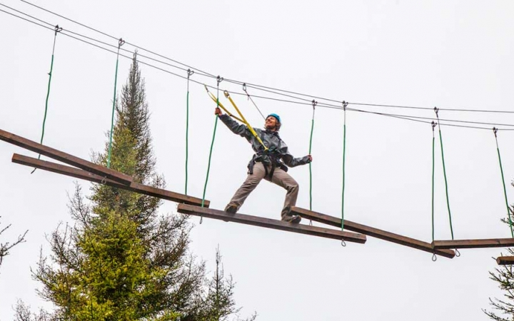 ropes course for at risk youth
