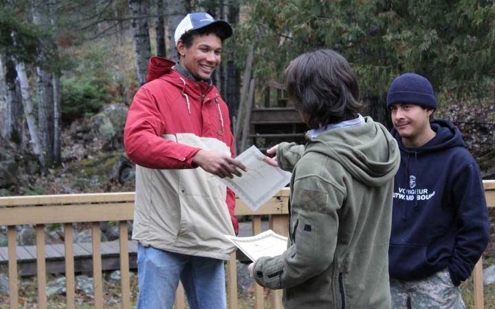 struggling teens gain leadership skills on outdoor course
