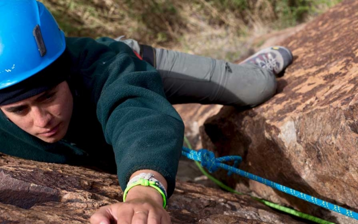 rock climbing camp for struggling teens