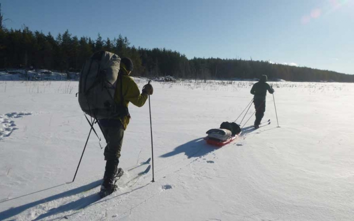 cross country skiing in northern minnesota