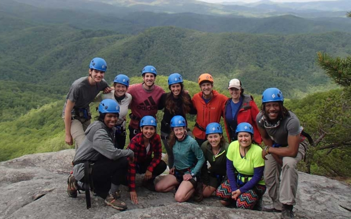 backpacking gap year program in north carolina